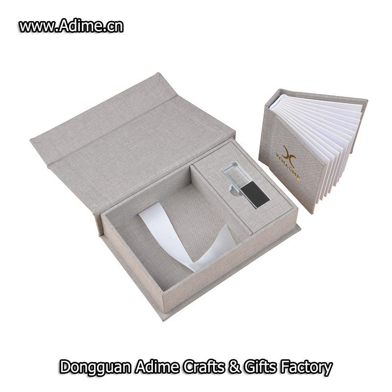 Album Box with USB Box