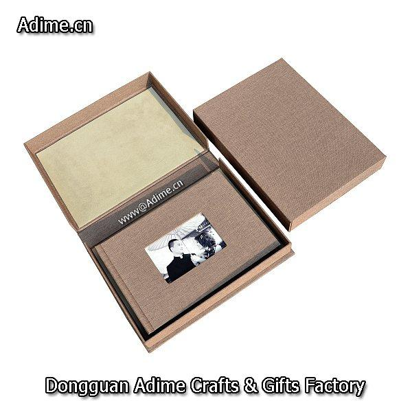 Linen Photo Book Gift Box