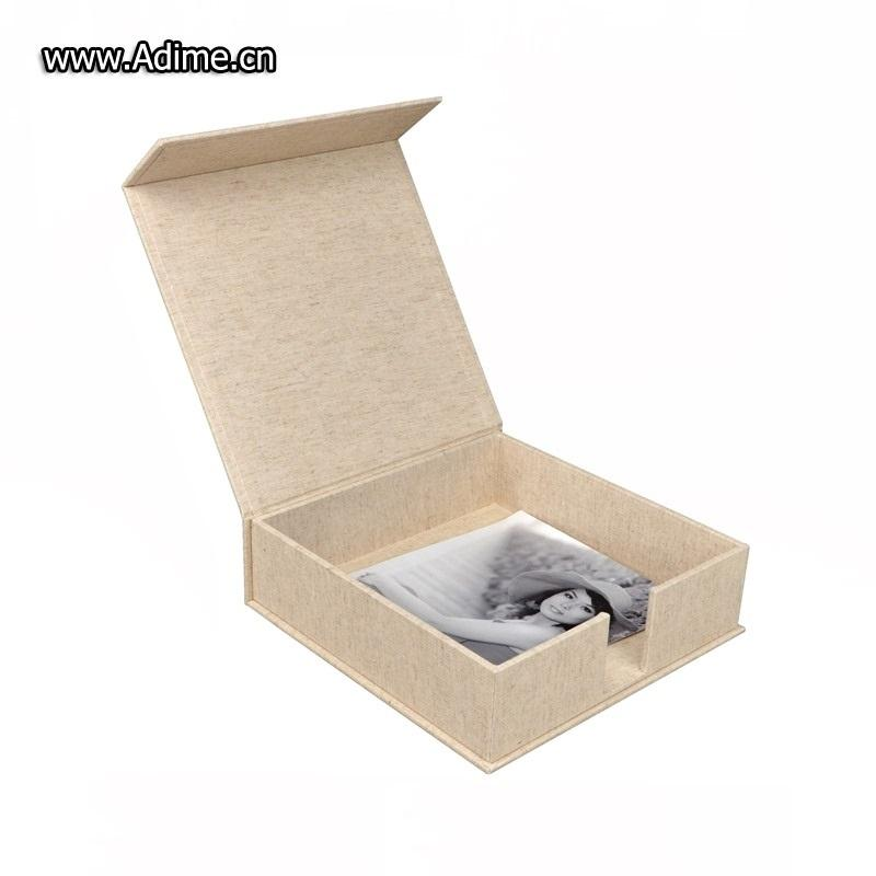 Linen Photo Book Packaging Box