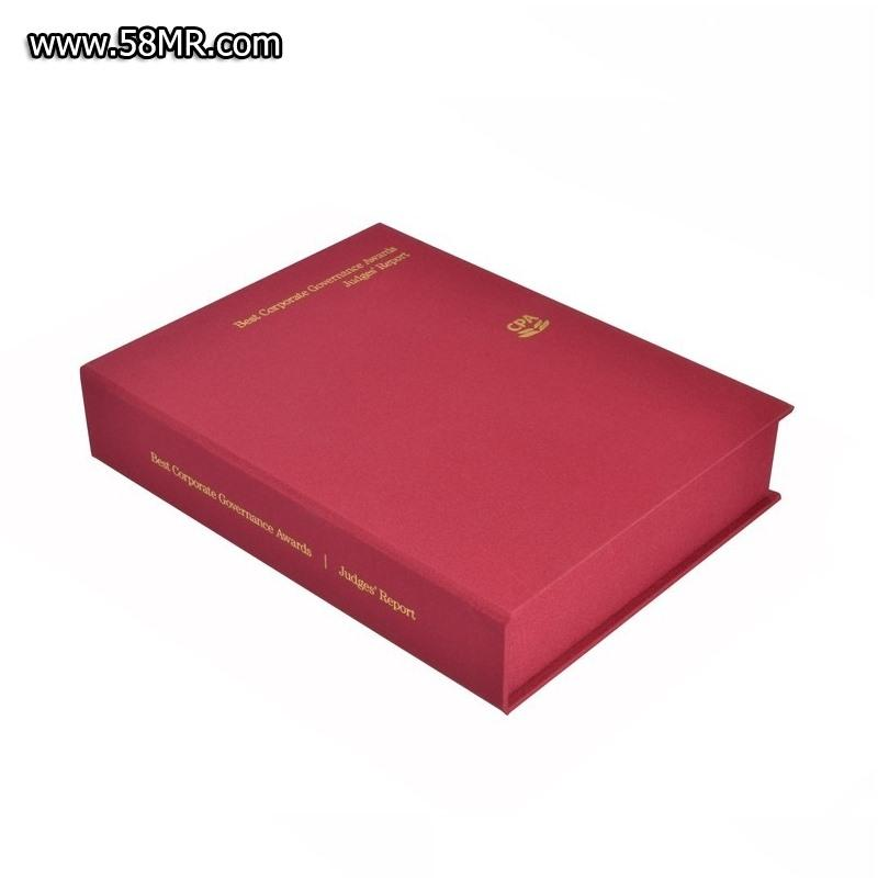 Linen Album Book Gift Box