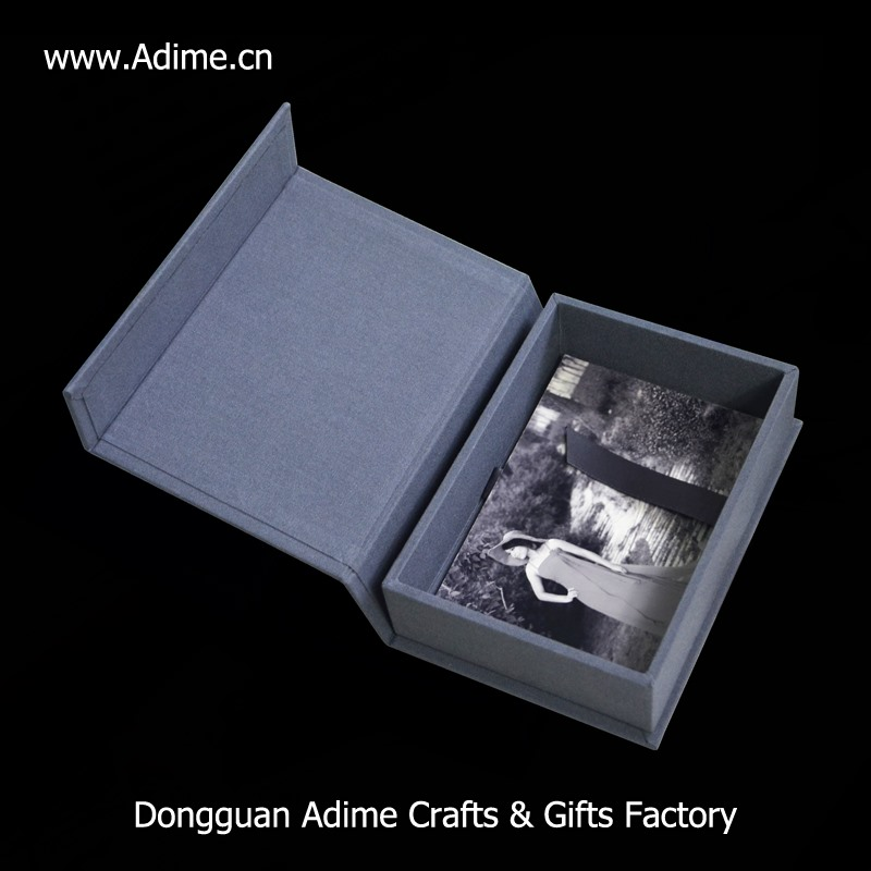 photography linen photo album gift box