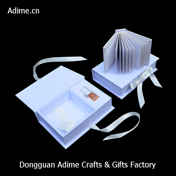 wedding Album packaging box with USB box