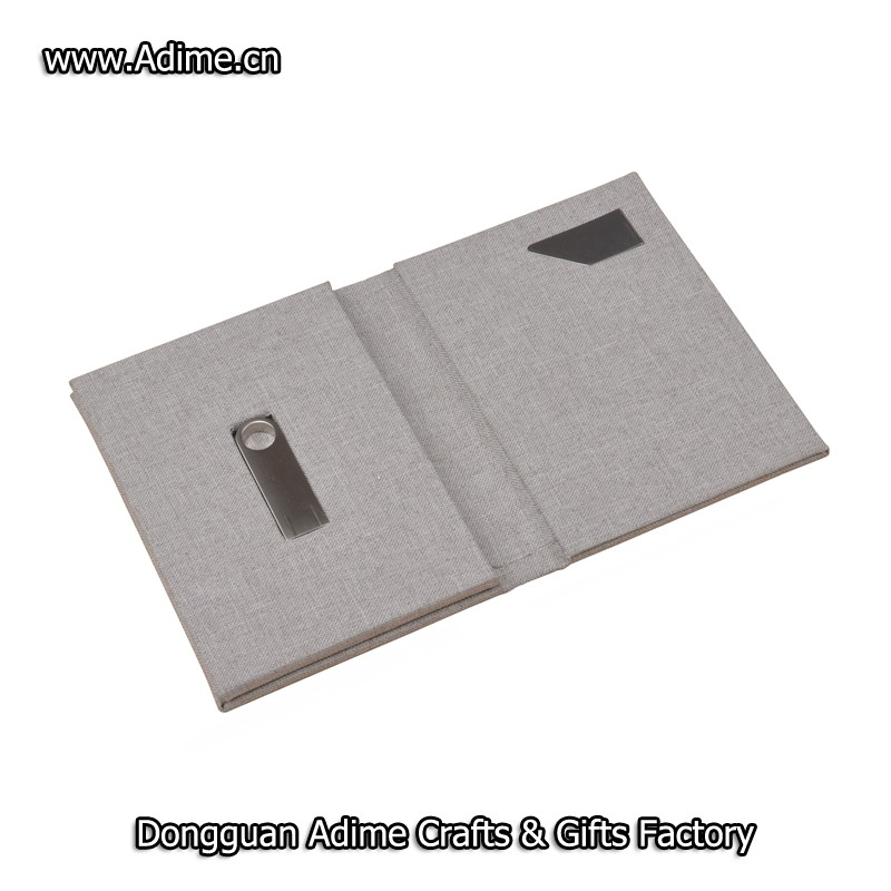 Name card holder and USB flash drive holder case