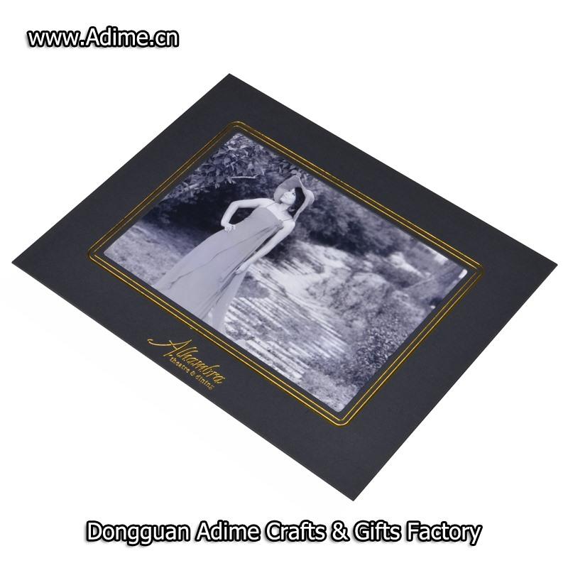 8x10 white paper photo folder