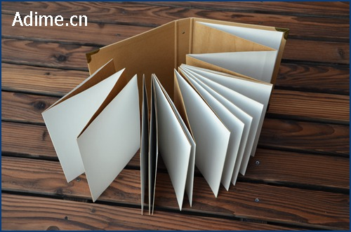 Kraft Accordion Photo Album