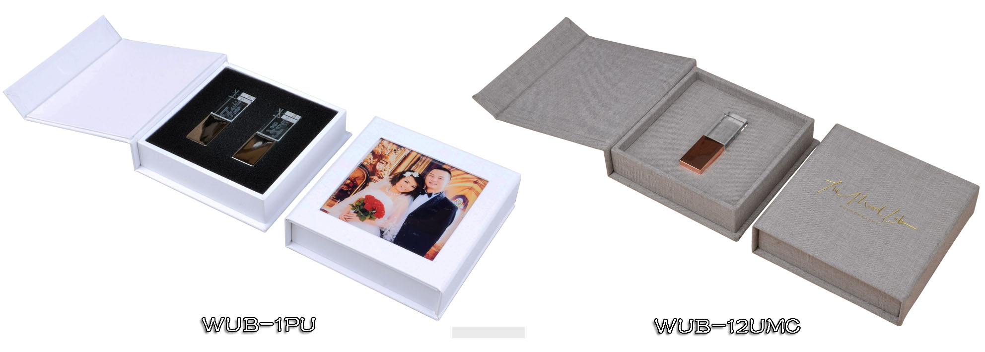 Photography wedding USB box